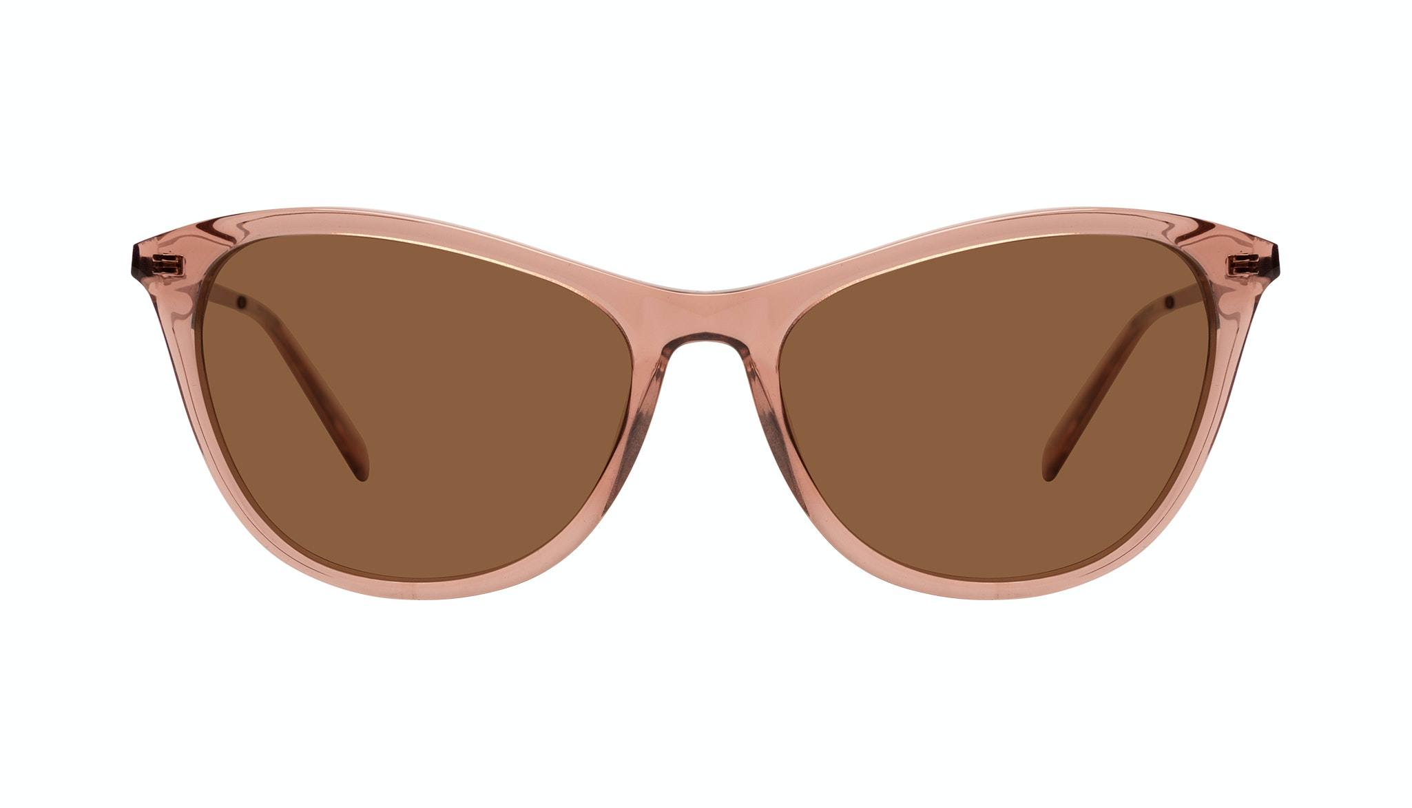 Affordable Fashion Glasses Rectangle Sunglasses Women Folk Plus Rose Front