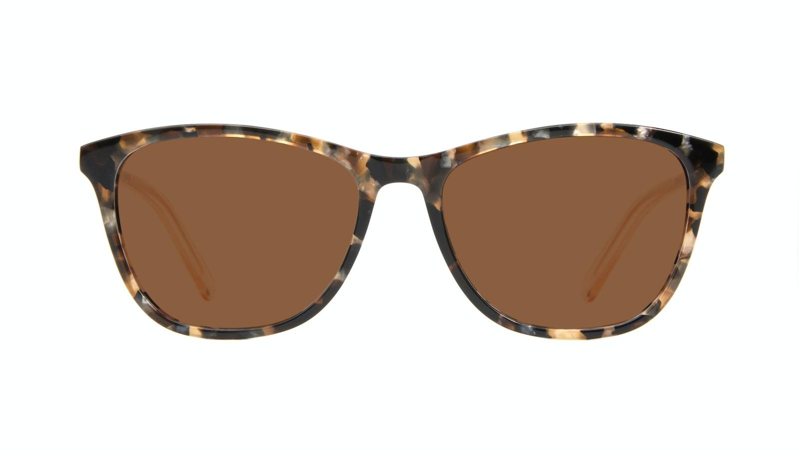 Affordable Fashion Glasses Rectangle Sunglasses Women Folk Gold Flake