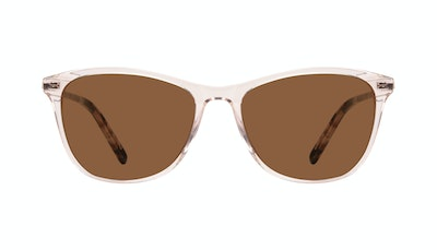 Affordable Fashion Glasses Rectangle Sunglasses Women Folk Rose Metal Front
