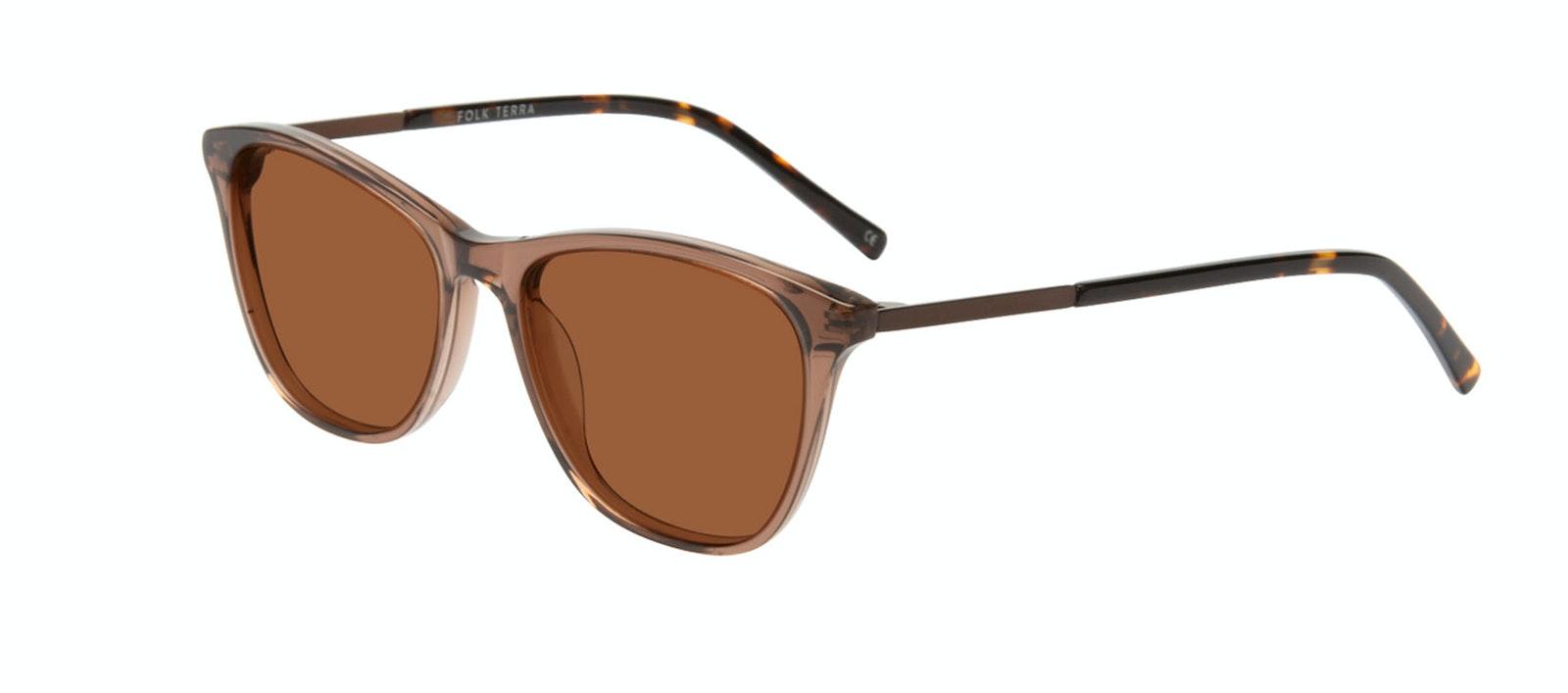 Affordable Fashion Glasses Rectangle Sunglasses Women Folk Terra Tilt