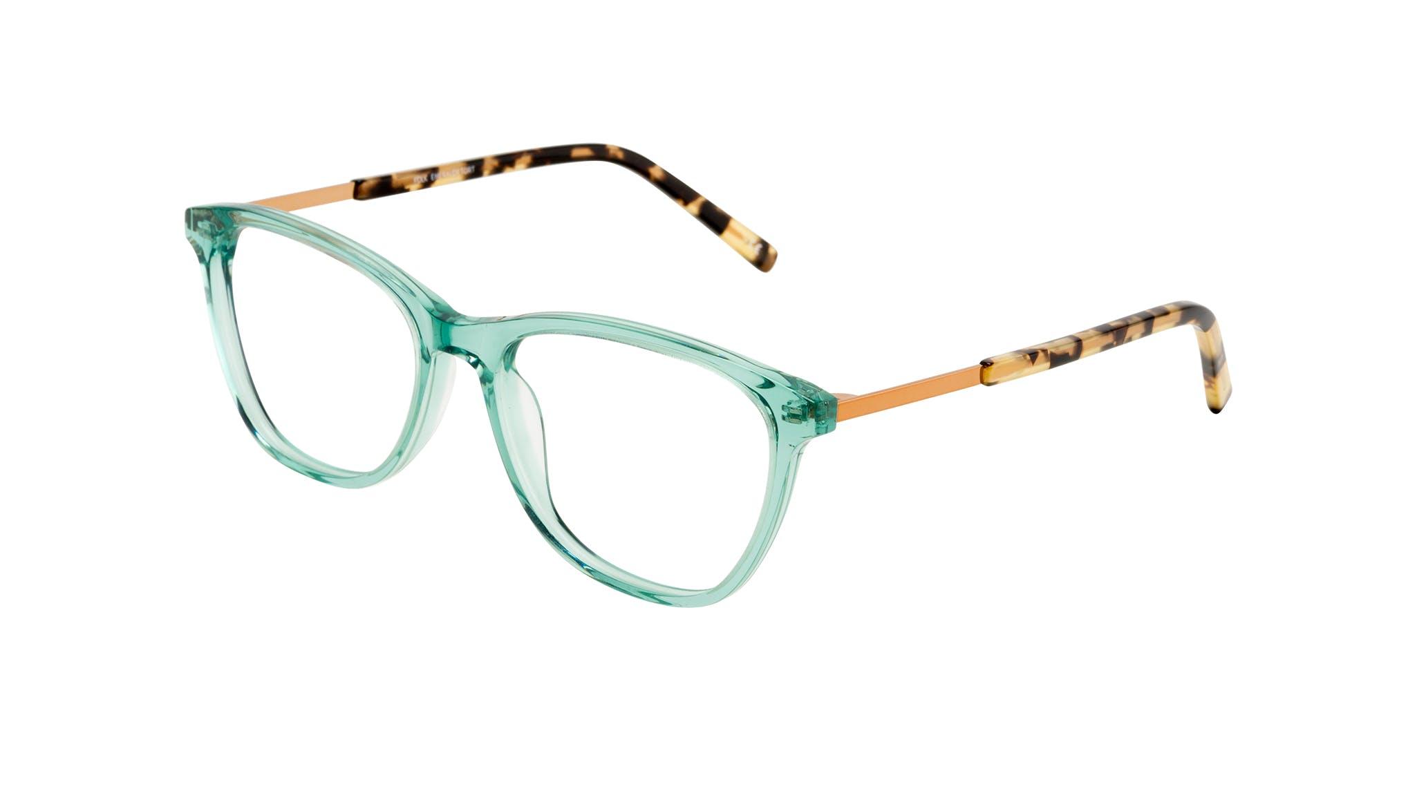 Affordable Fashion Glasses Cat Eye Rectangle Eyeglasses Women Folk Emeraude Tort Tilt