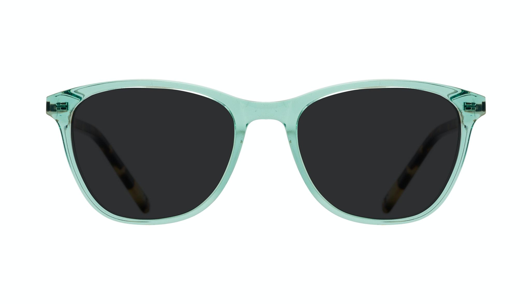 Affordable Fashion Glasses Cat Eye Rectangle Sunglasses Women Folk Emeraude Tort