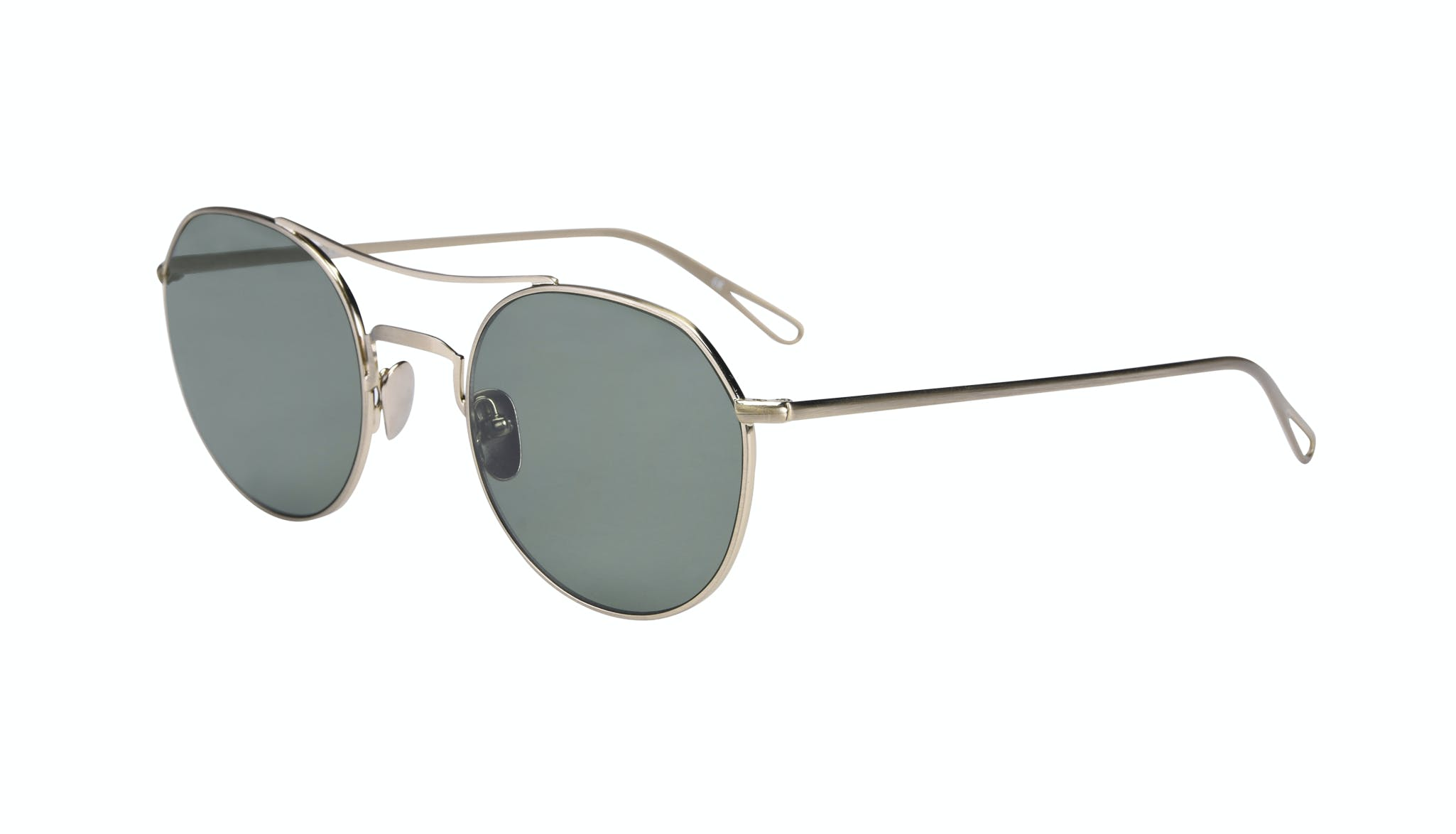 Affordable Fashion Glasses Aviator Sunglasses Men Force Brass  Tilt