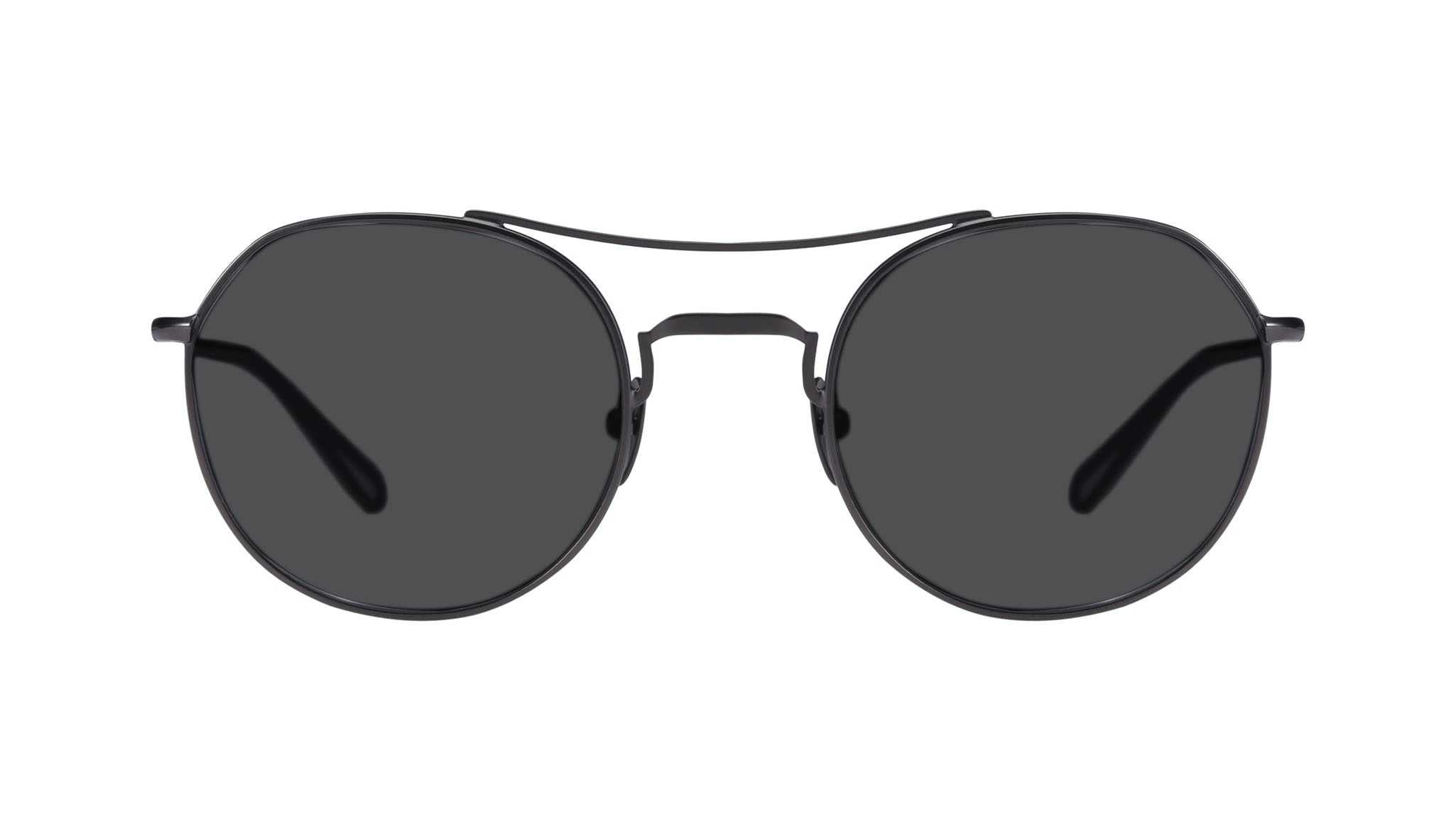 Affordable Fashion Glasses Aviator Sunglasses Men Force Gun Metal Front