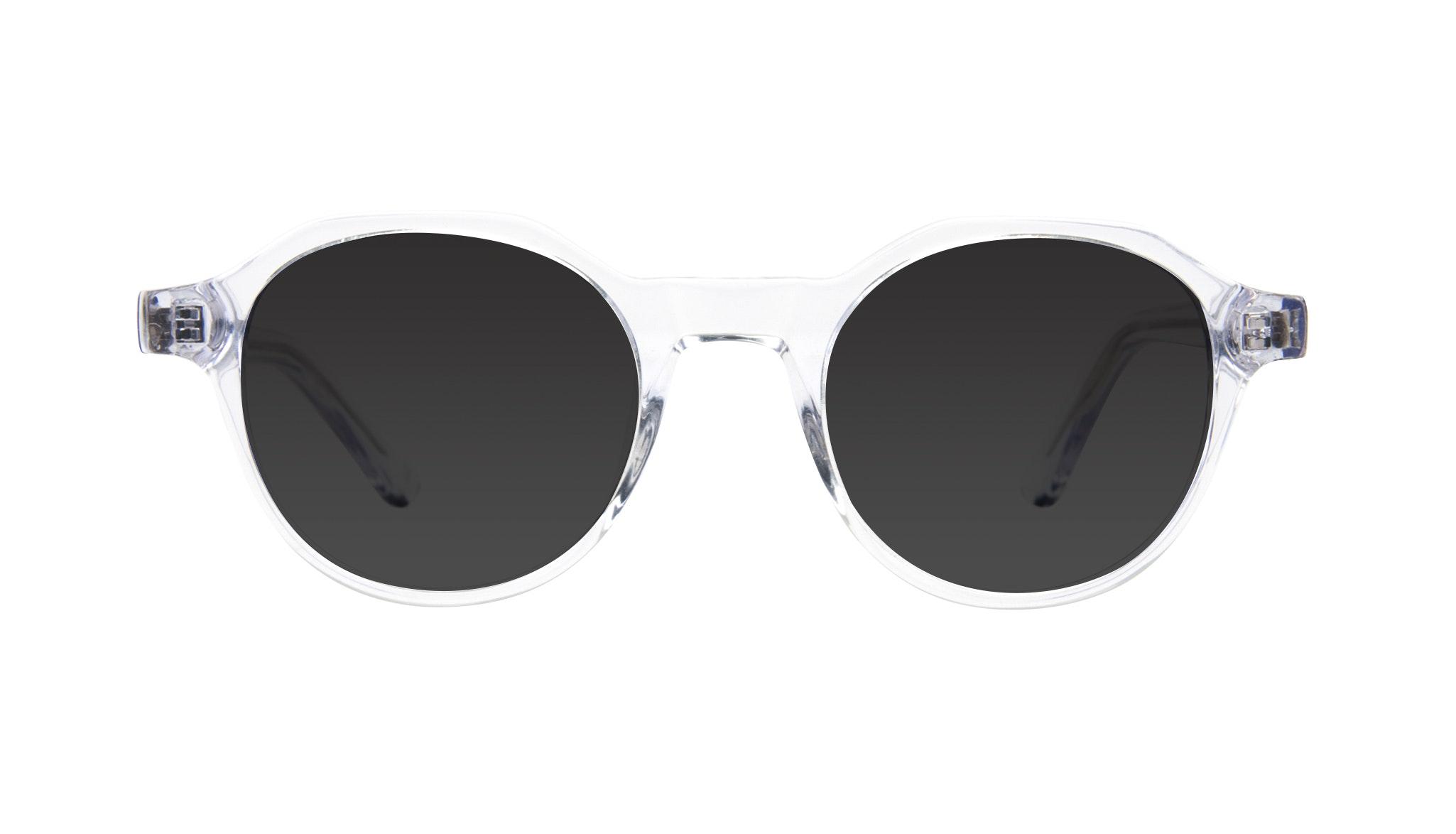 Affordable Fashion Glasses Round Sunglasses Men Form Diamond Front