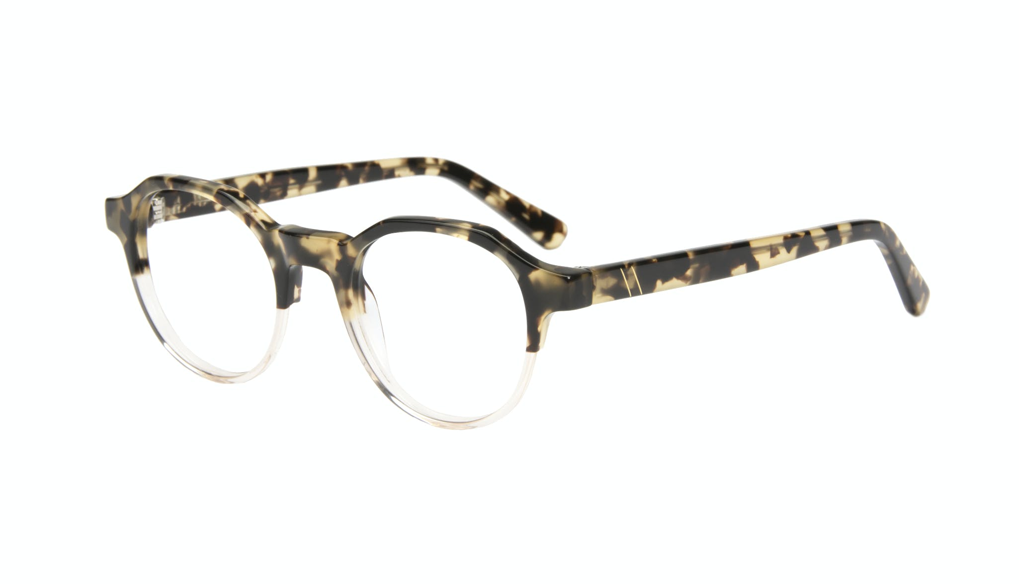 Affordable Fashion Glasses Round Eyeglasses Men Form Golden Tort Tilt