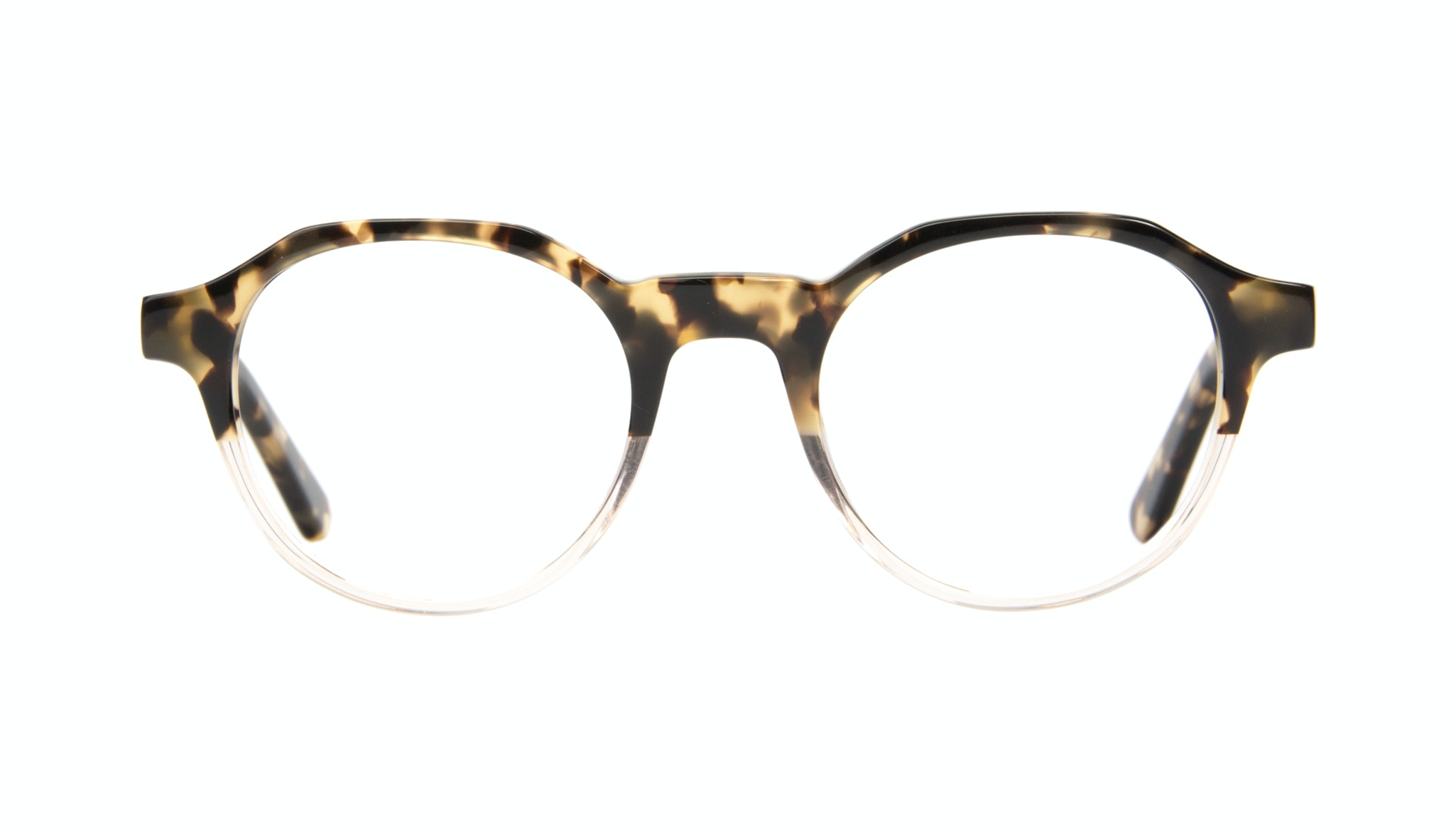 Affordable Fashion Glasses Round Eyeglasses Men Form Golden Tort