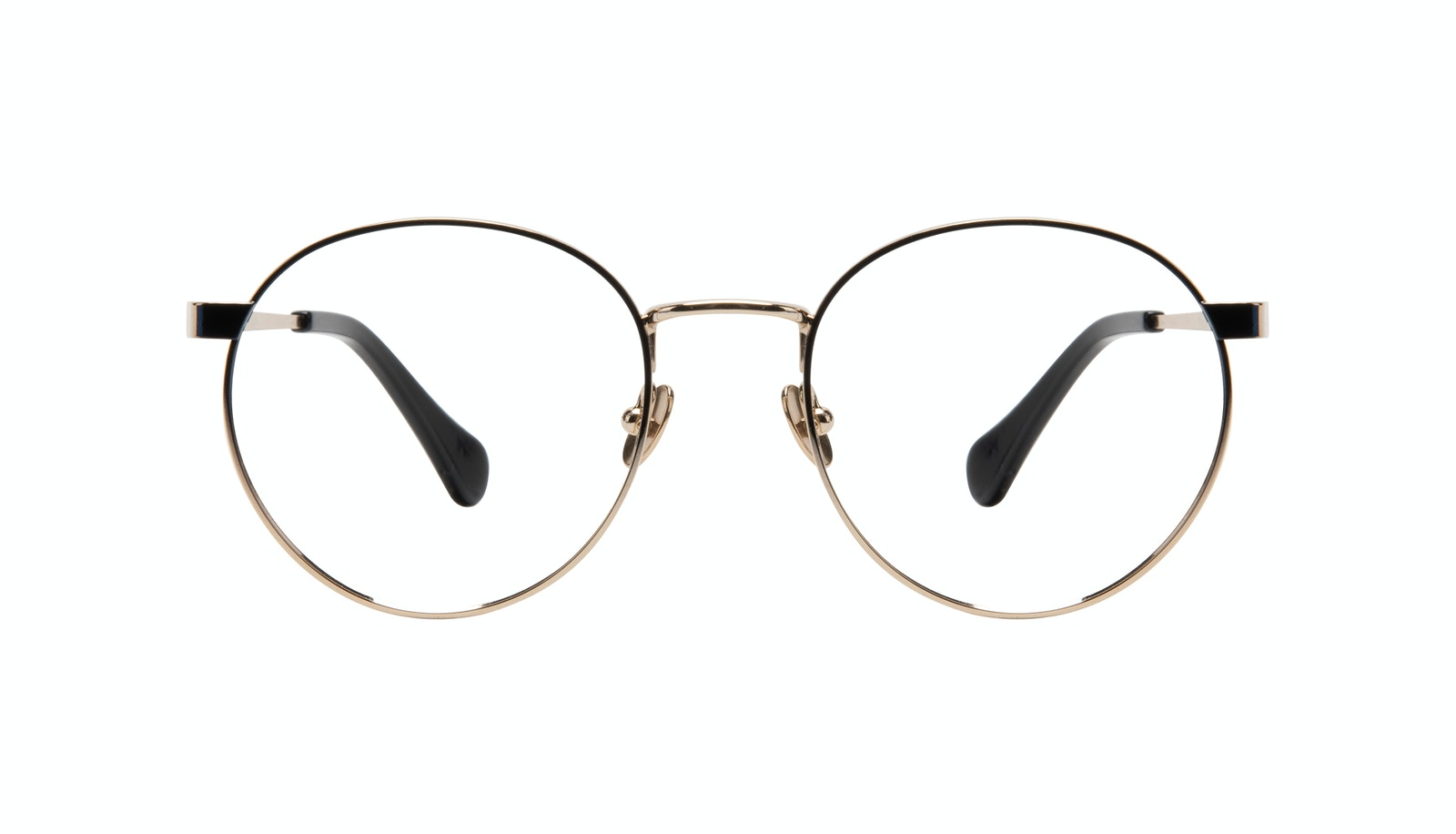 Affordable Fashion Glasses Round Eyeglasses Women Foundry Deep Gold