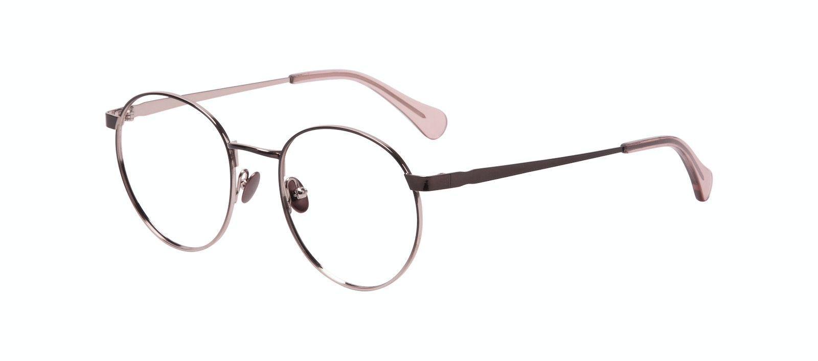 Affordable Fashion Glasses Round Eyeglasses Women Foundry Pink Terra Tilt