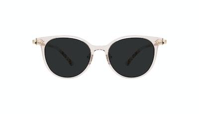 Affordable Fashion Glasses Round Sunglasses Women Gem Pink Quartz Front