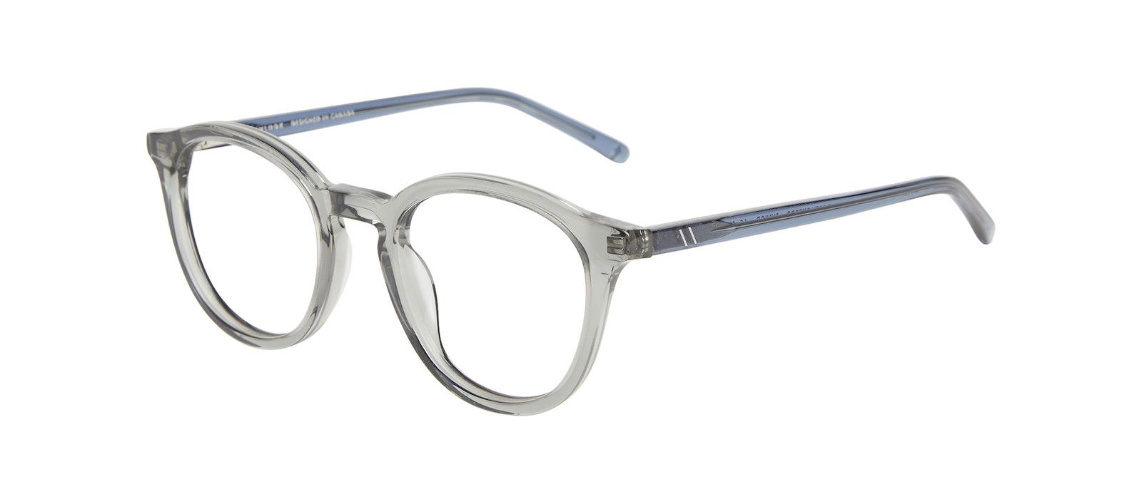 Lunettes tendance Ronde Lunettes de vue Enfants Gent Junior Grey Oxford Incliné