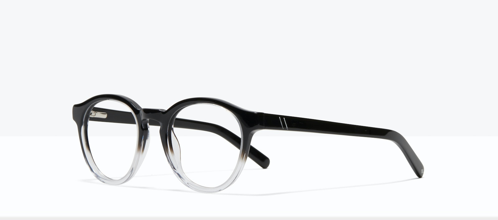 Affordable Fashion Glasses Round Eyeglasses Men Gent S Onyx Clear Tilt