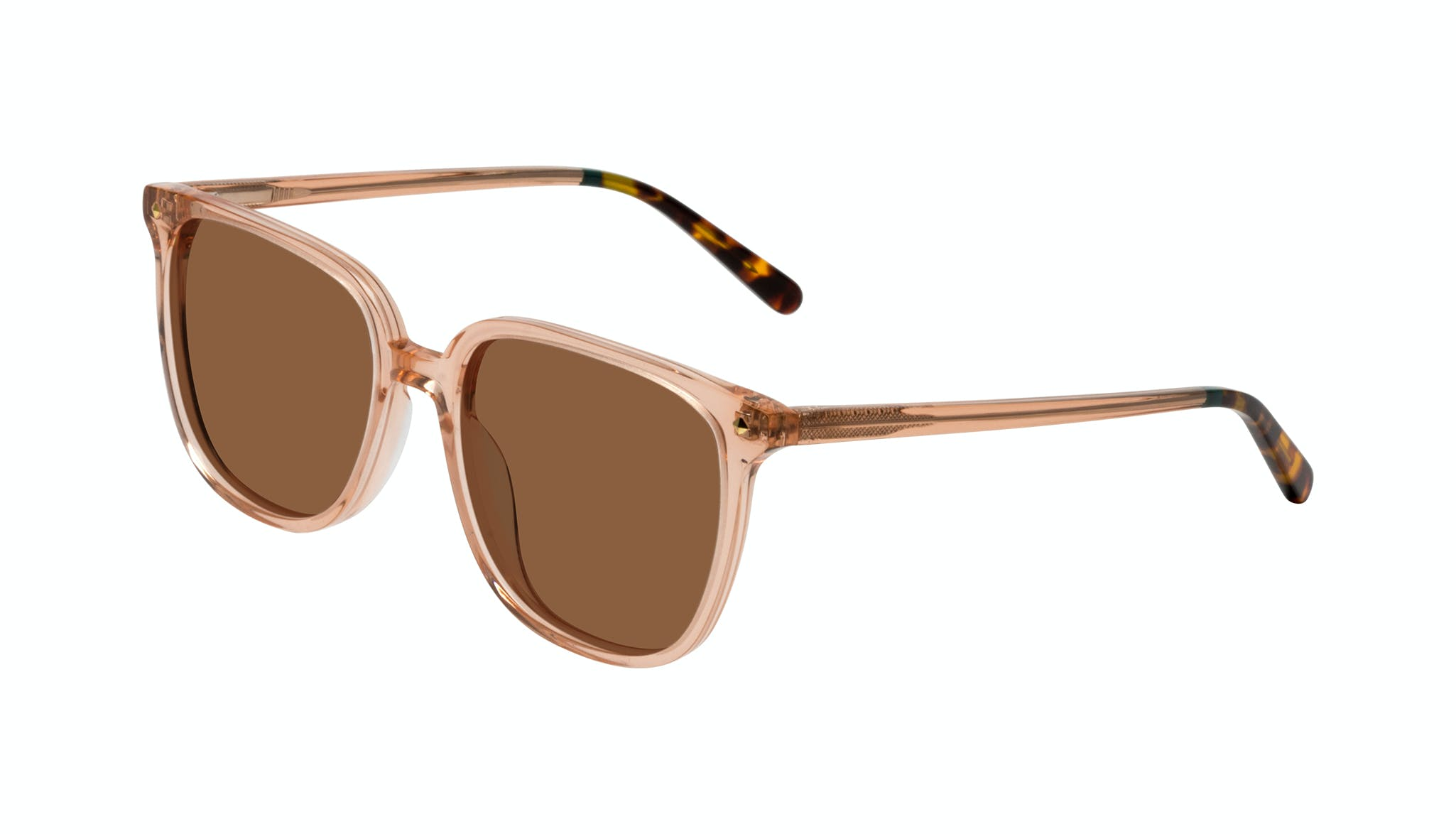 Affordable Fashion Glasses Cat Eye Sunglasses Women Gia Peach Tilt