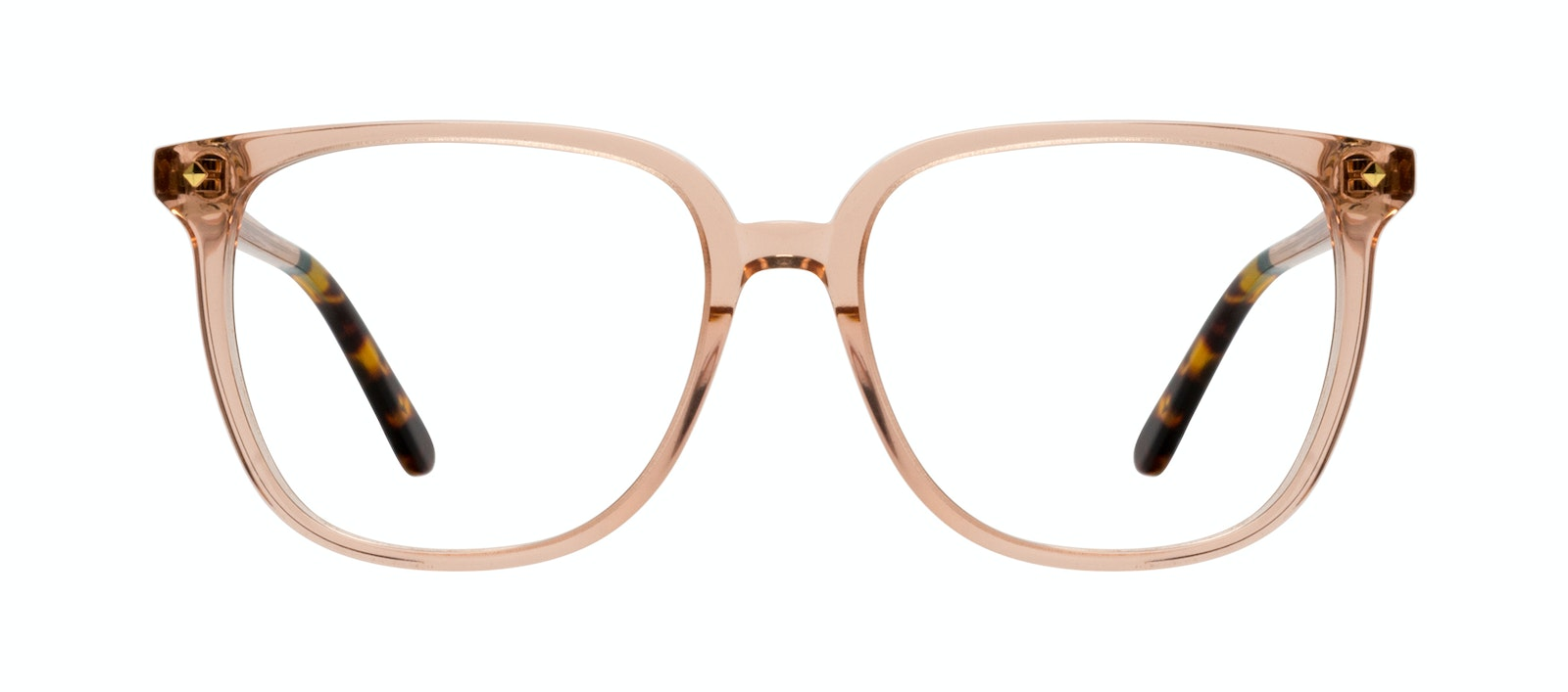 Affordable Fashion Glasses Cat Eye Eyeglasses Women Gia Peach Front