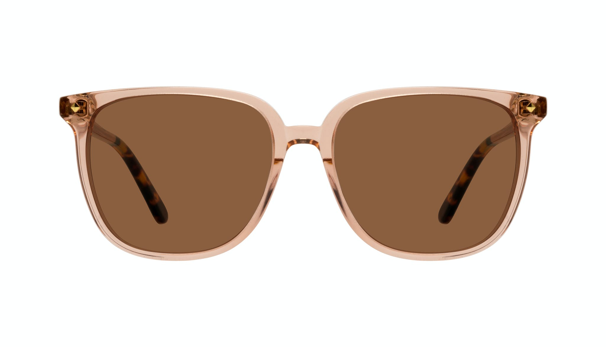 Affordable Fashion Glasses Cat Eye Sunglasses Women Gia Peach Front