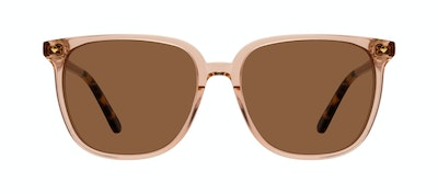 Affordable Fashion Glasses Square Sunglasses Women Gia Peach Front