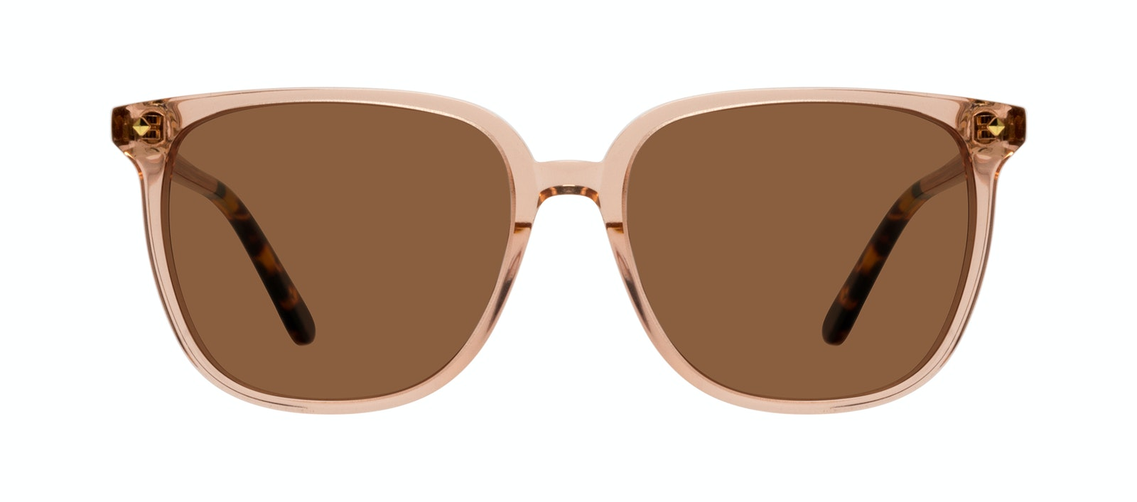 Affordable Fashion Glasses Sunglasses Women Gia Peach Front
