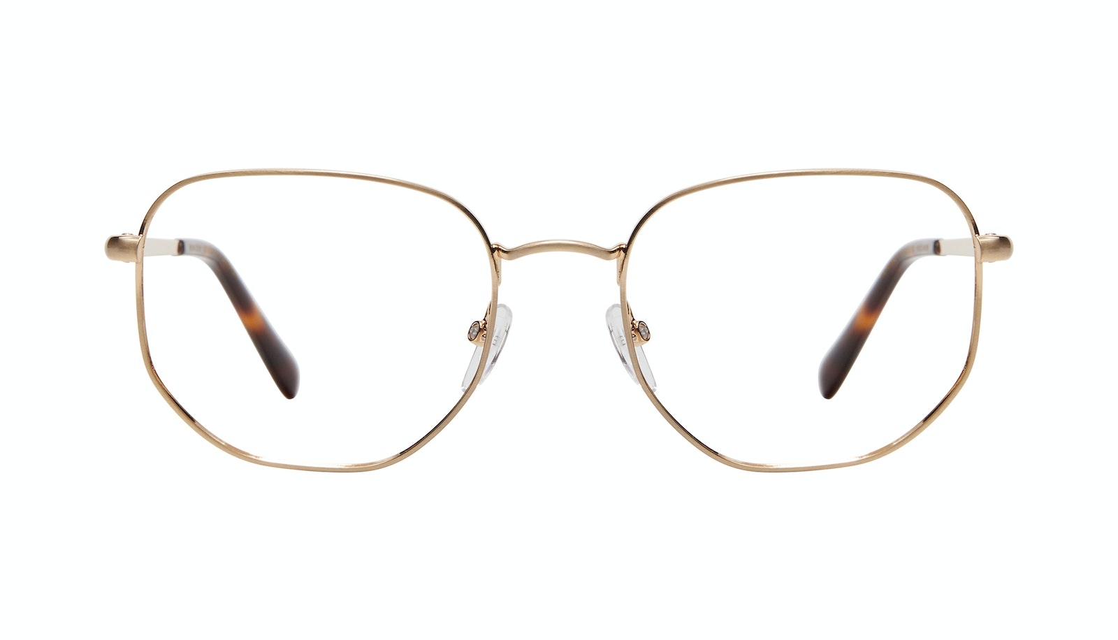 Affordable Fashion Glasses Square Eyeglasses Men Global L Matte Gold