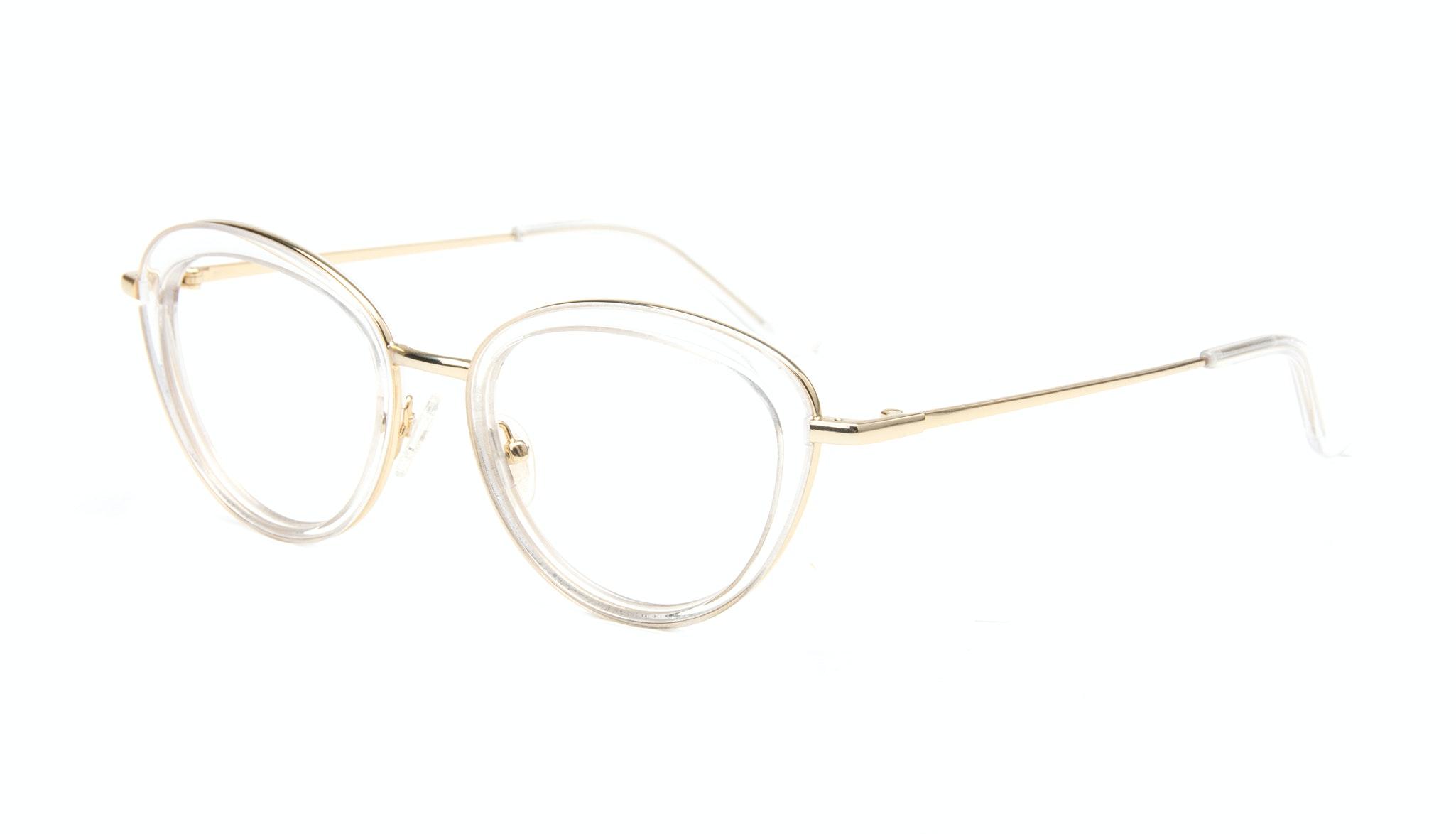 Affordable Fashion Glasses Cat Eye Eyeglasses Women Glory Gold Diamond Tilt