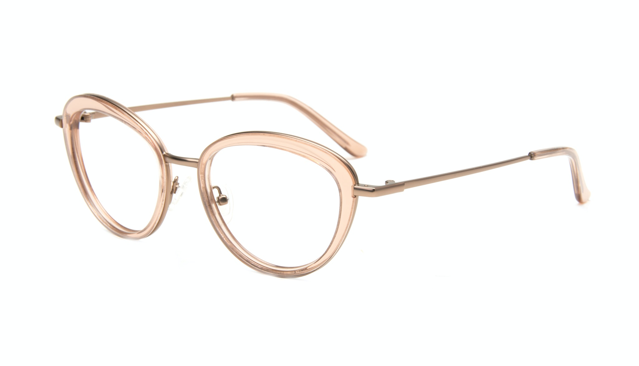 Affordable Fashion Glasses Cat Eye Eyeglasses Women Glory Rose Tilt