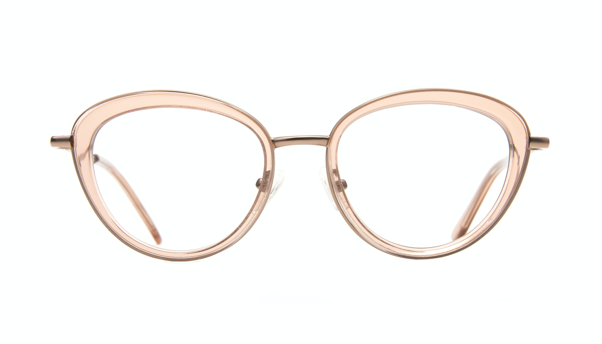 Affordable Fashion Glasses Cat Eye Eyeglasses Women Glory Rose Front