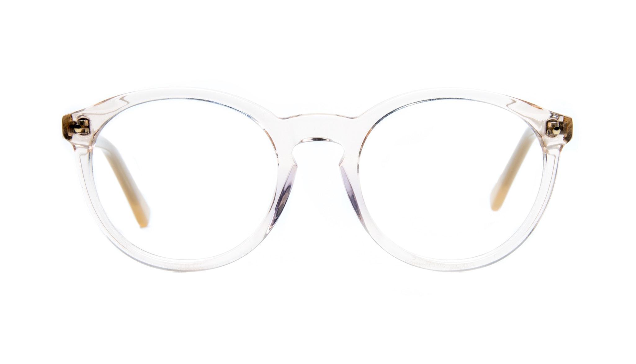 Affordable Fashion Glasses Round Eyeglasses Women Glow Blond Metal