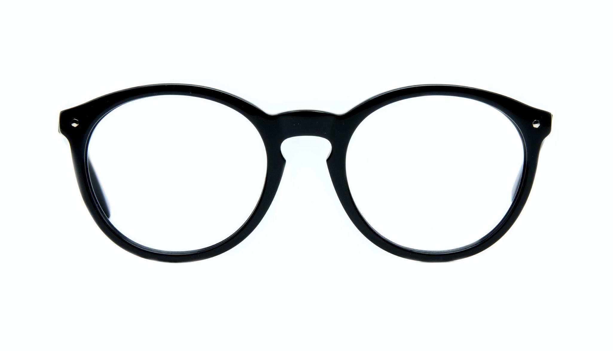 Affordable Fashion Glasses Round Eyeglasses Women Glow Onyx Front