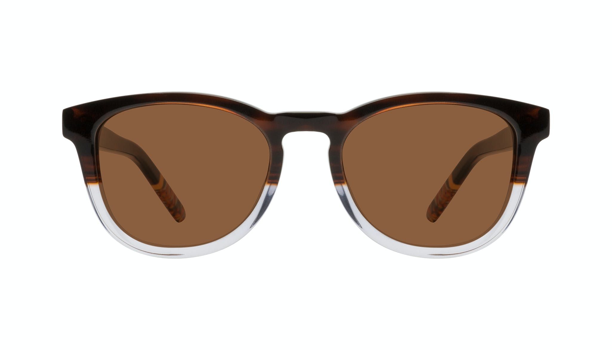 Affordable Fashion Glasses Round Sunglasses Men Goal Bark Front