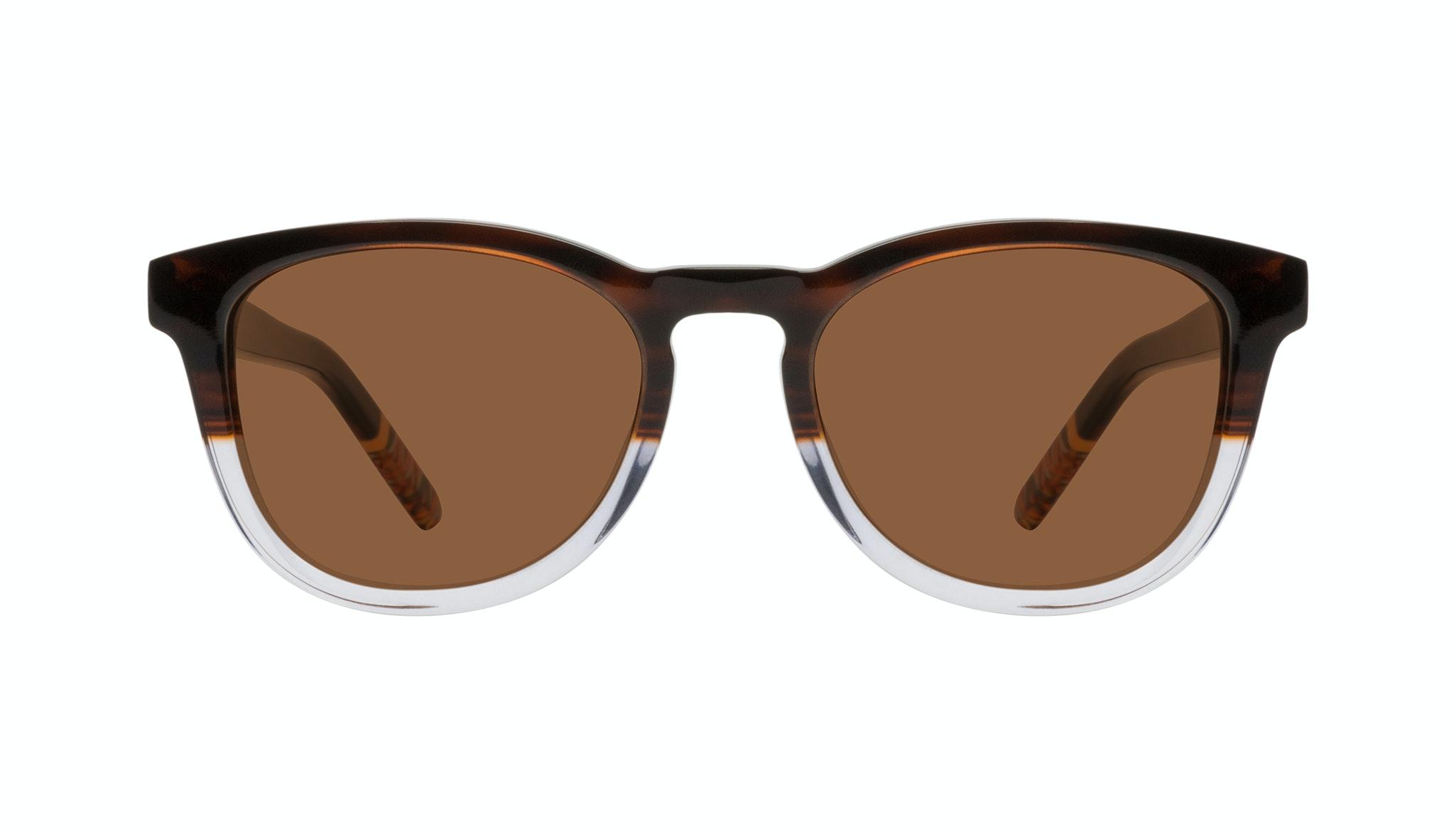 Affordable Fashion Glasses Round Sunglasses Men Goal Bark Front