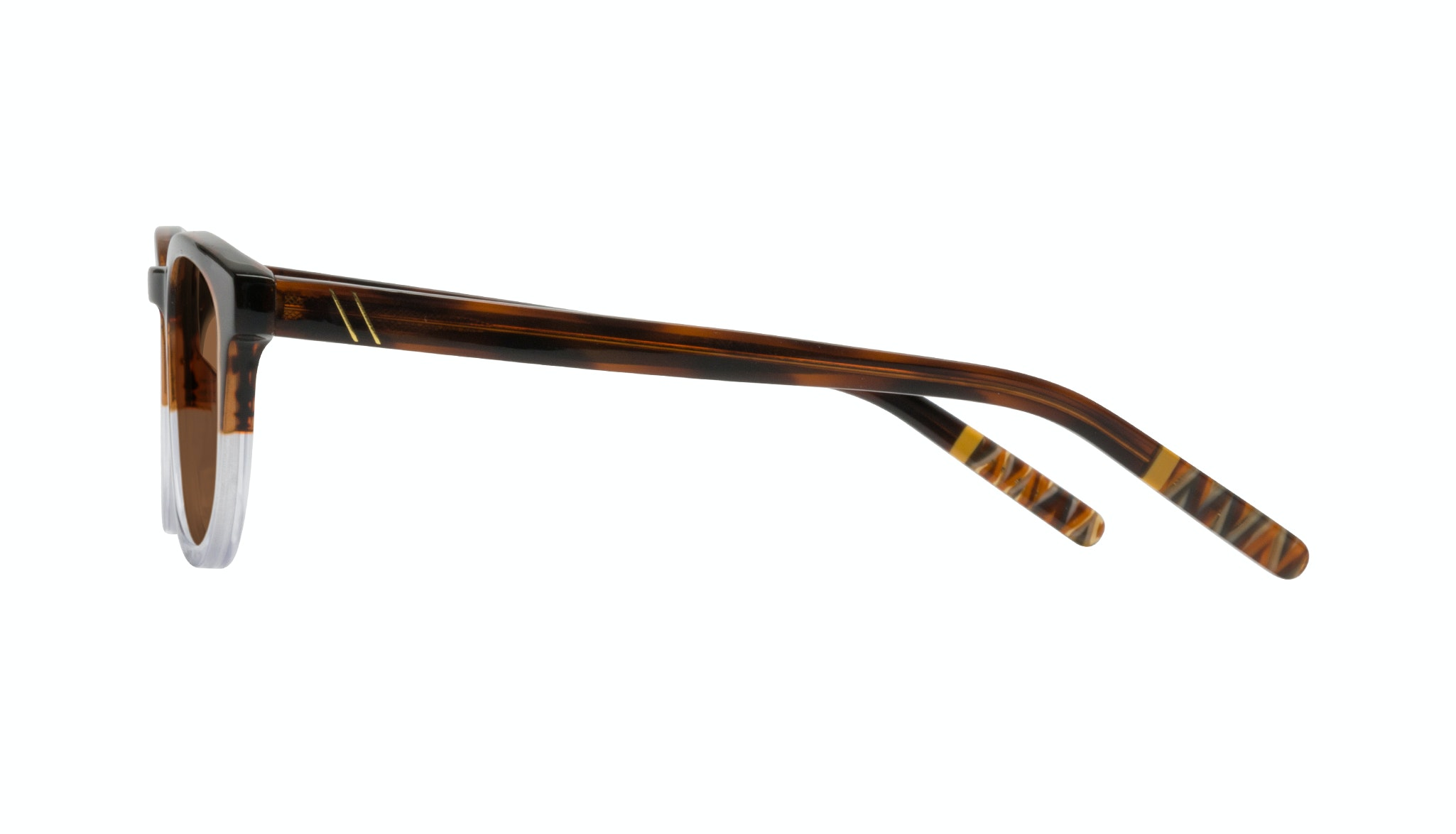Affordable Fashion Glasses Round Sunglasses Men Goal Bark Side
