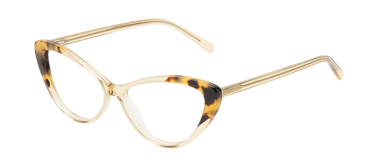 Affordable Fashion Glasses Cat Eye Eyeglasses Women Gossamer Golden Tort Tilt