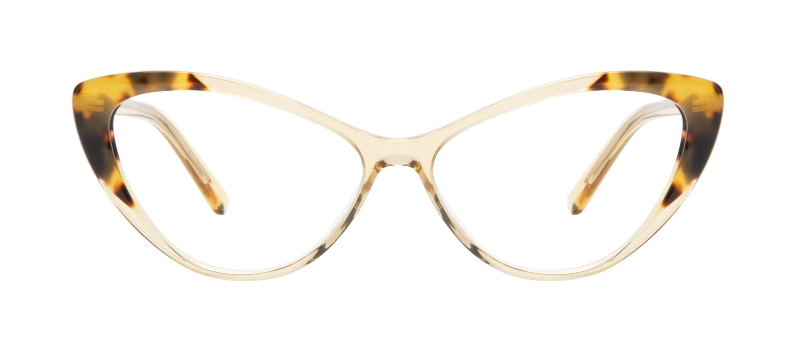 Affordable Fashion Glasses Cat Eye Eyeglasses Women Gossamer Golden Tort Front