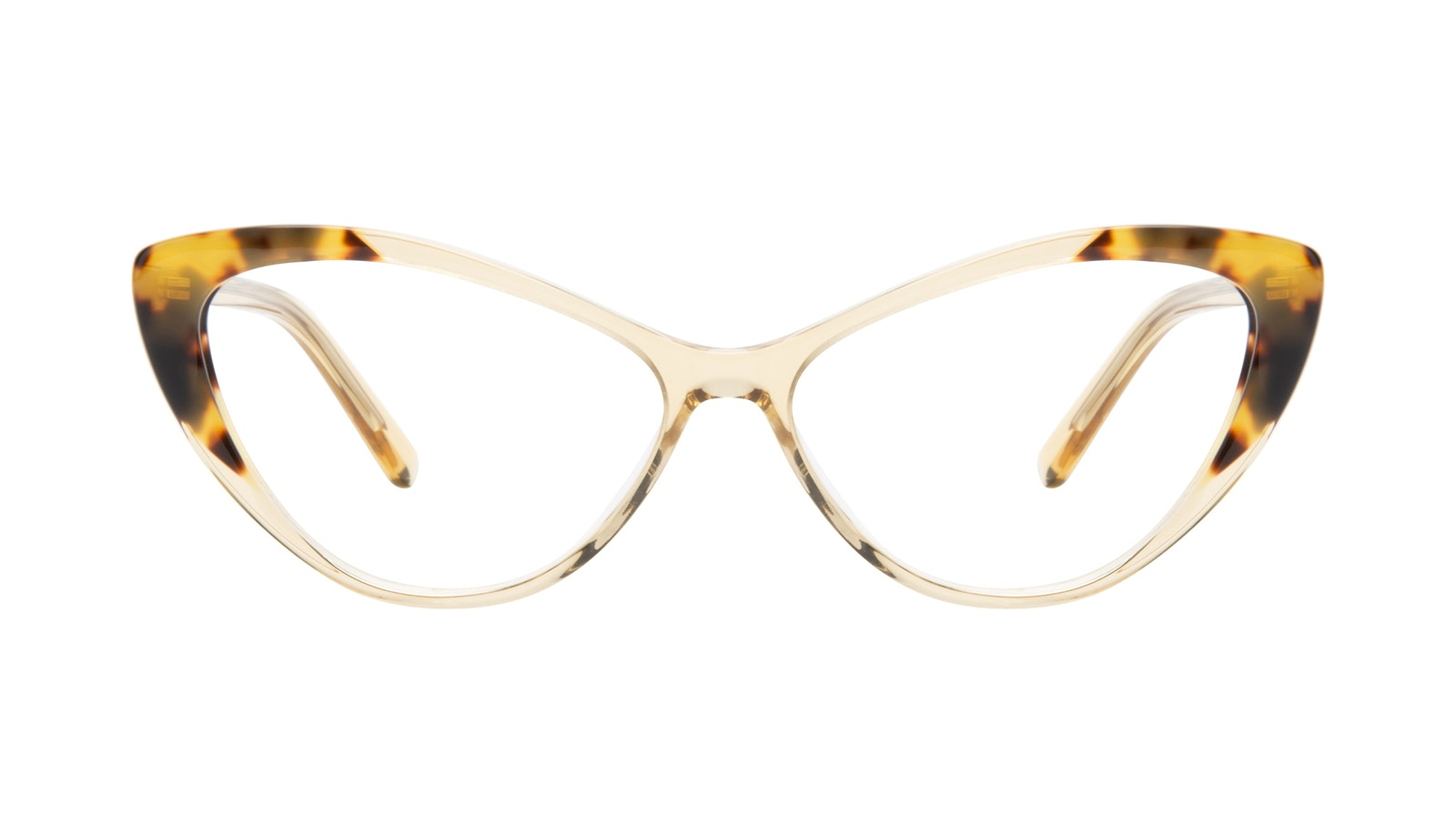 Affordable Fashion Glasses Cat Eye Eyeglasses Women Gossamer Golden Tort