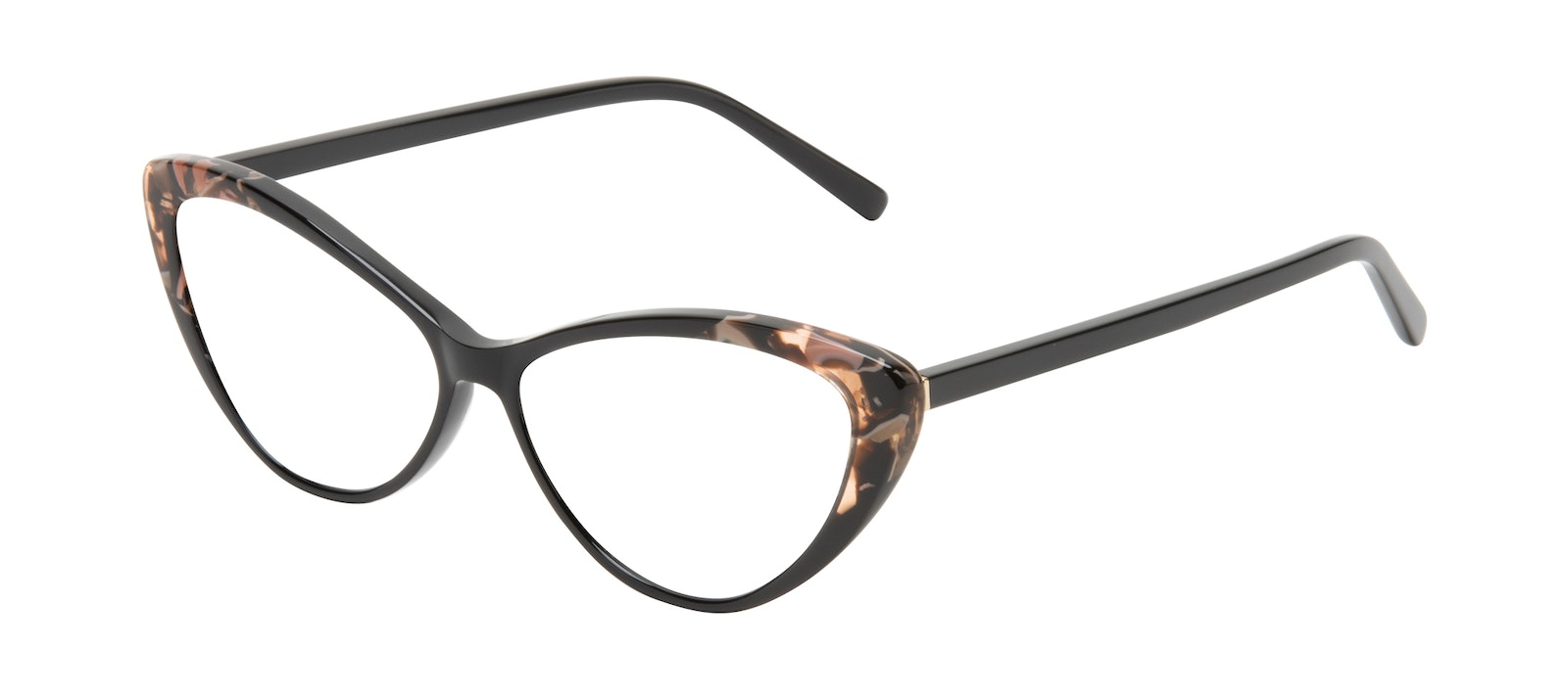 Affordable Fashion Glasses Cat Eye Eyeglasses Women Gossamer Midnight Pink Tilt