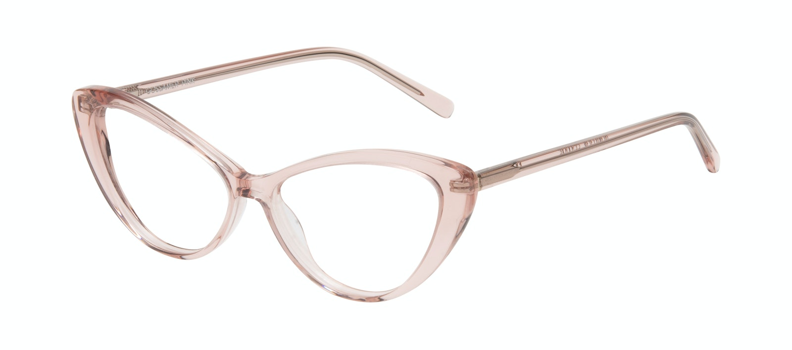 Affordable Fashion Glasses Cat Eye Eyeglasses Women Gossamer Pink Tilt