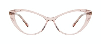 Affordable Fashion Glasses Cat Eye Eyeglasses Women Gossamer Pink Front