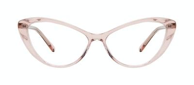 Lunettes tendance Oeil de chat Lunettes de vue Femmes Gossamer Pink Face