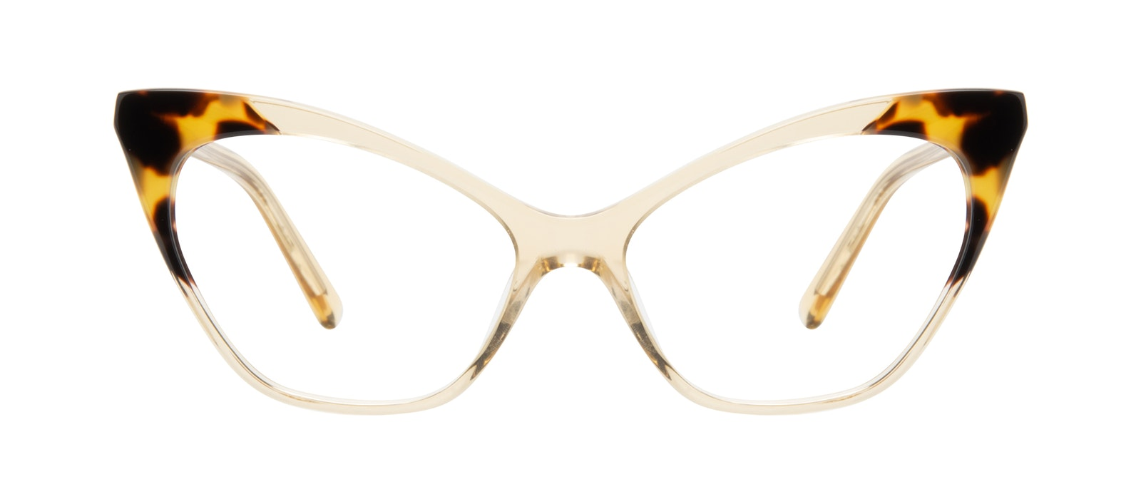 Affordable Fashion Glasses Cat Eye Eyeglasses Women Gossip Golden Tort Front