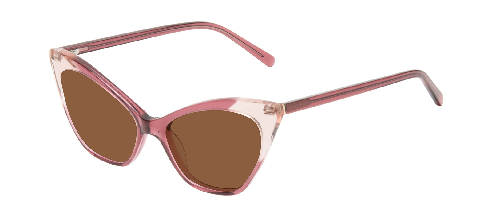 Affordable Fashion Glasses Cat Eye Sunglasses Women Gossip Orchid Pink Tilt