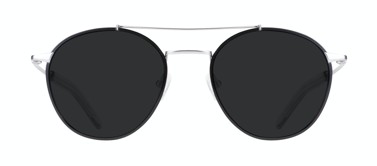 473de79e8b38f Gravity. Previous. Affordable Fashion Glasses Aviator Sunglasses Men Gravity  Black Silver Front