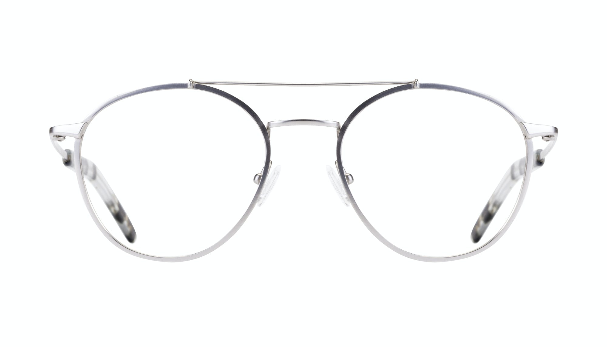 Affordable Fashion Glasses Aviator Eyeglasses Men Gravity Silver Front