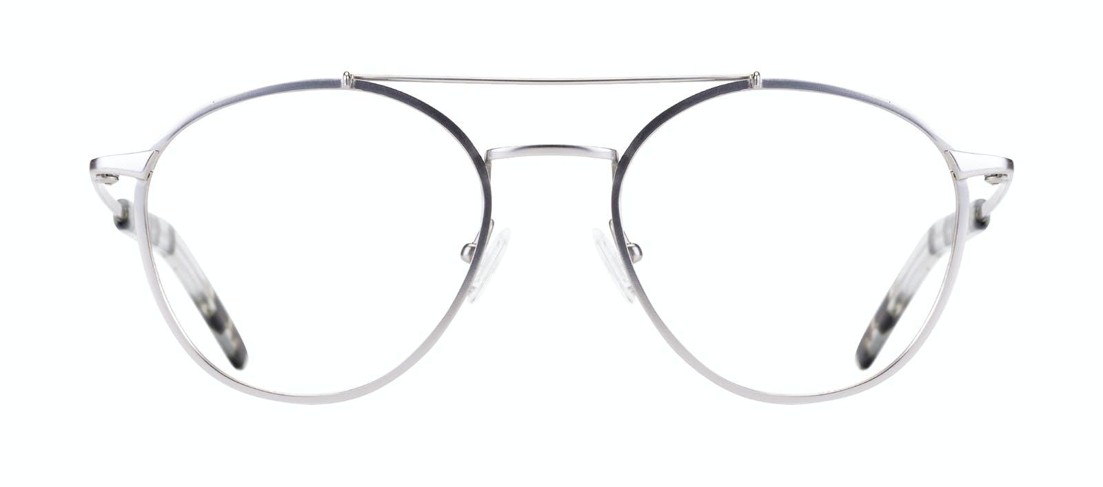 37c384e3da Affordable Fashion Glasses Aviator Eyeglasses Men Gravity Silver Front