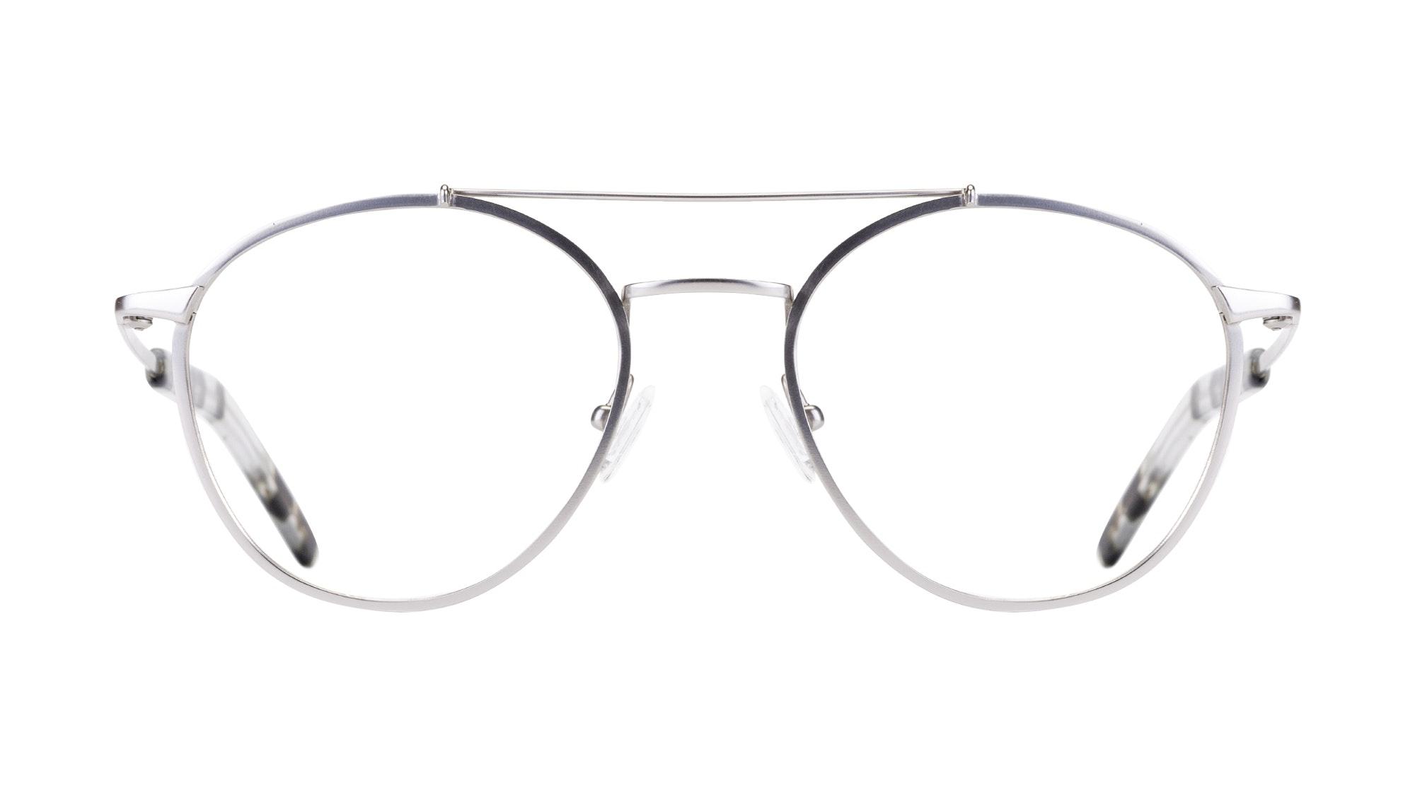 Affordable Fashion Glasses Aviator Eyeglasses Men Gravity Silver