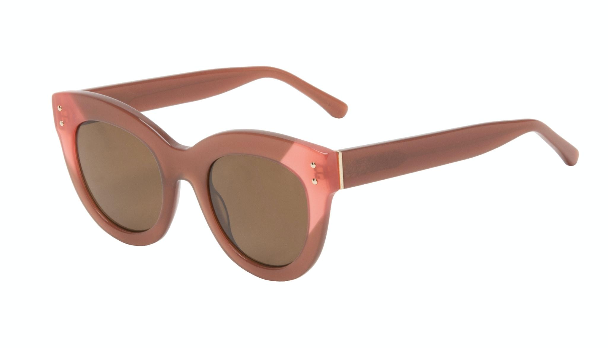 Affordable Fashion Glasses Cat Eye Sunglasses Women Groove Toffee Tilt