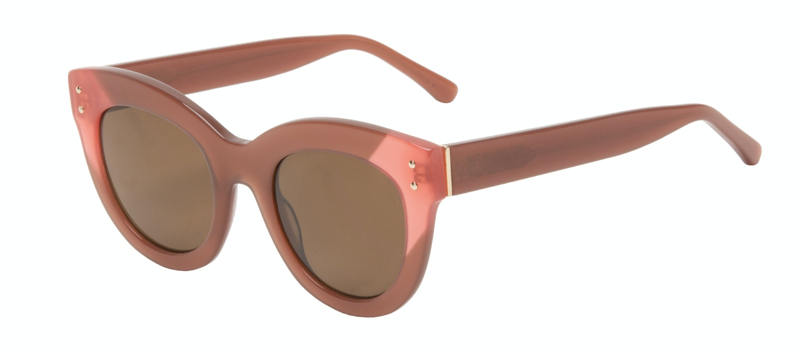 Affordable Fashion Glasses Cat Eye Sunglasses Women Groove Toffee Tilt