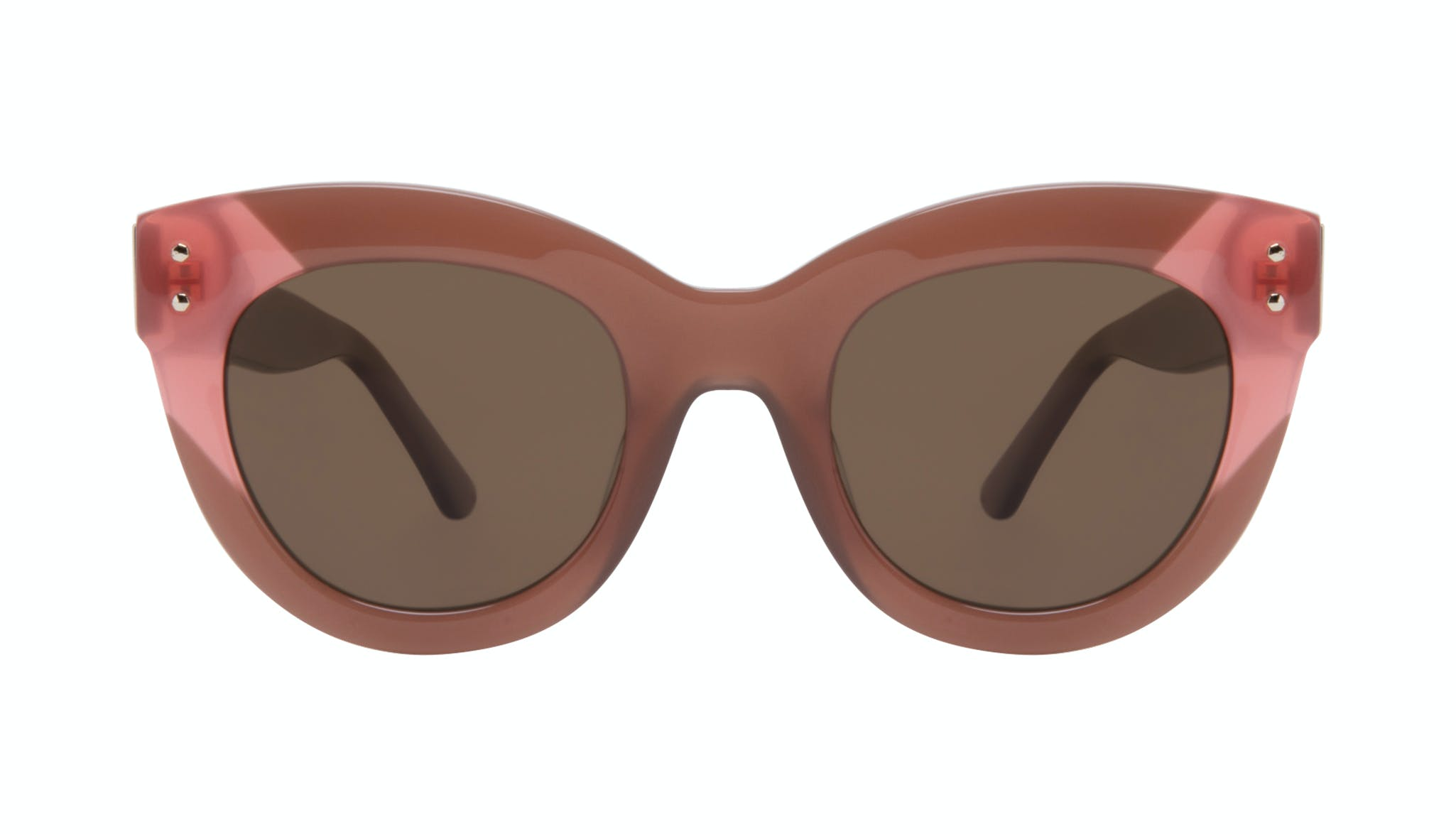 Affordable Fashion Glasses Cat Eye Sunglasses Women Groove Toffee