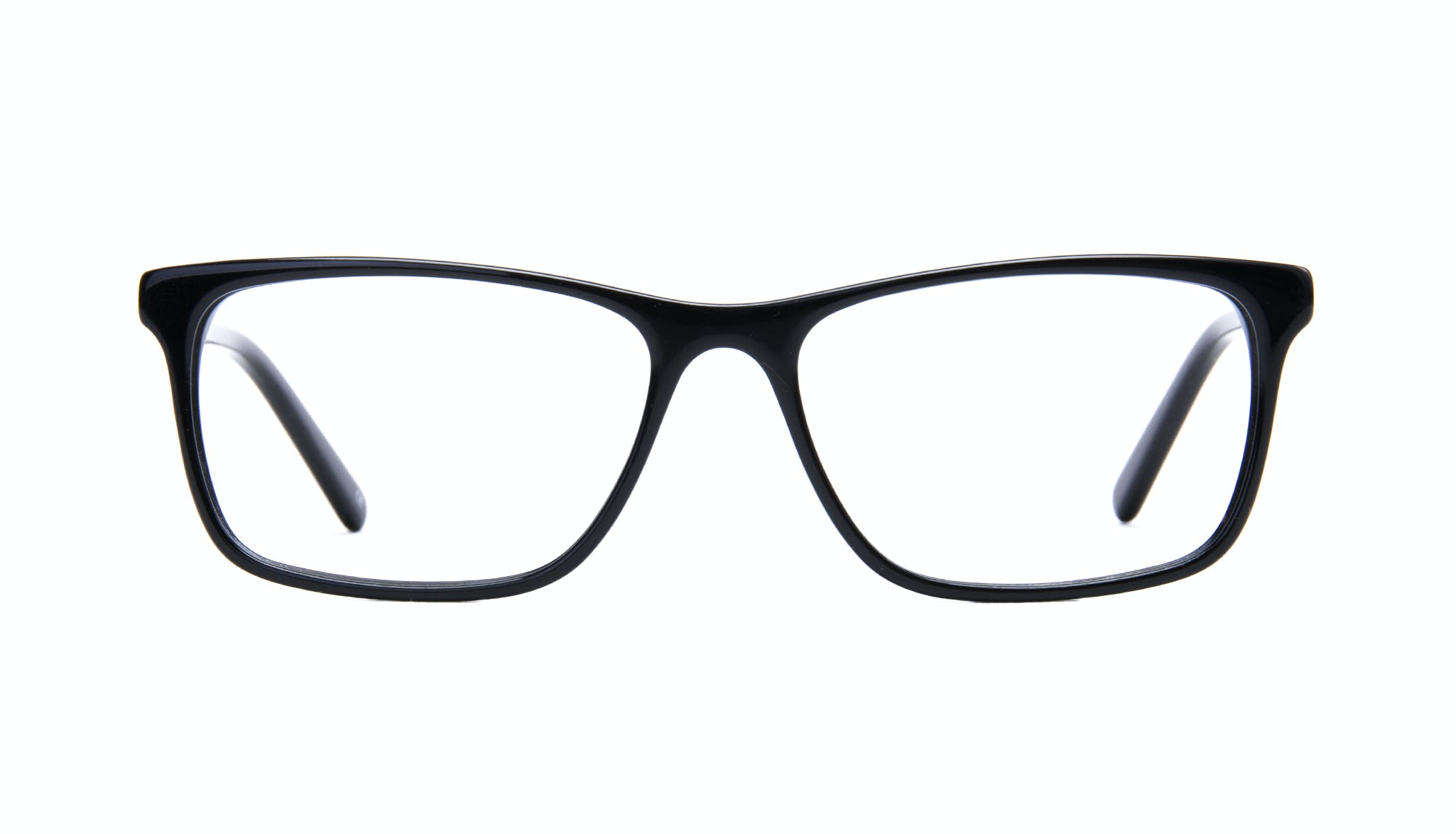 Affordable Fashion Glasses Rectangle Eyeglasses Men Henri Black