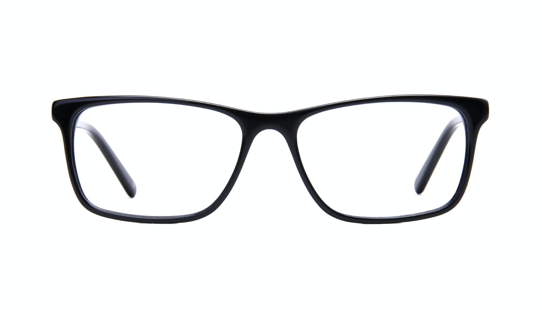 Affordable Fashion Glasses Rectangle Eyeglasses Men Henri Black  Front