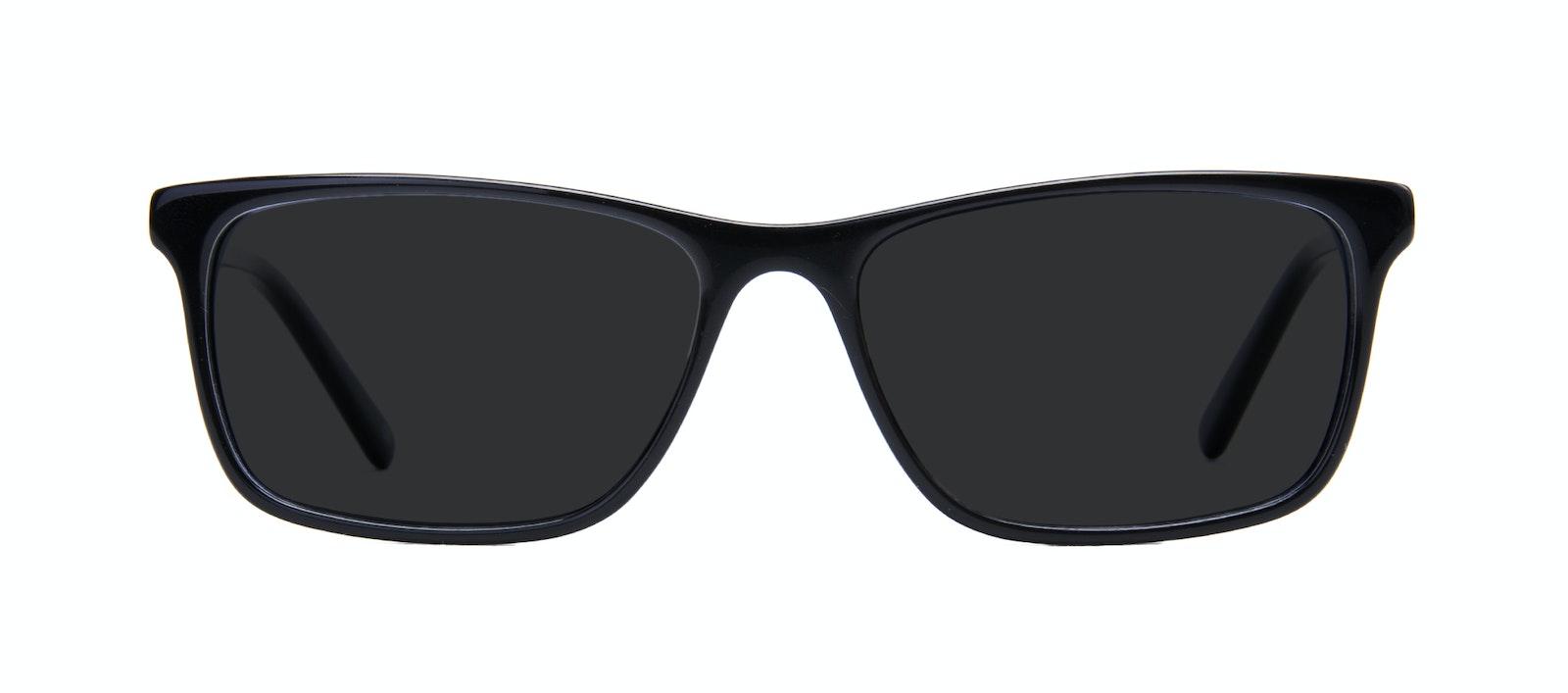 Affordable Fashion Glasses Rectangle Sunglasses Men Henri Black  Front