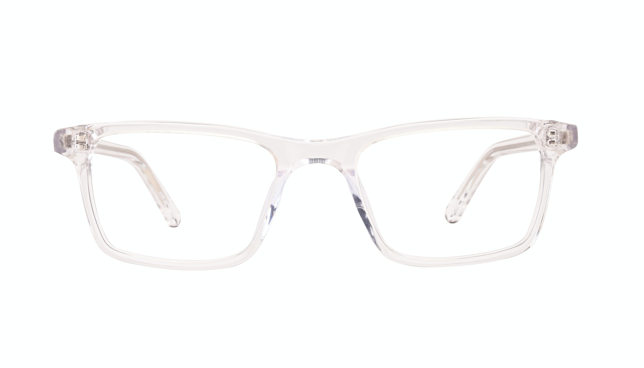 Affordable Fashion Glasses Rectangle Eyeglasses Men Henri SML Clear